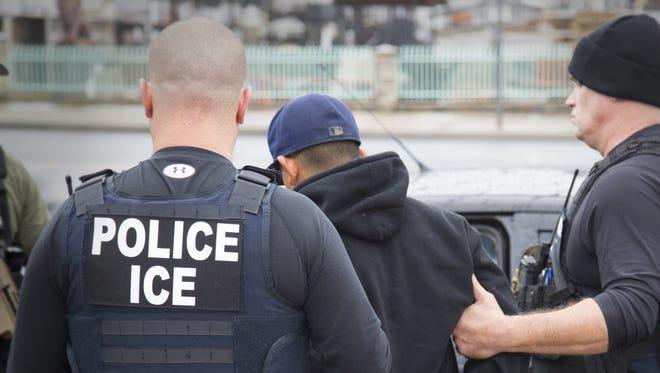 Critics say Immigrations and Customs Enforcement has been targeting and arresting activists.