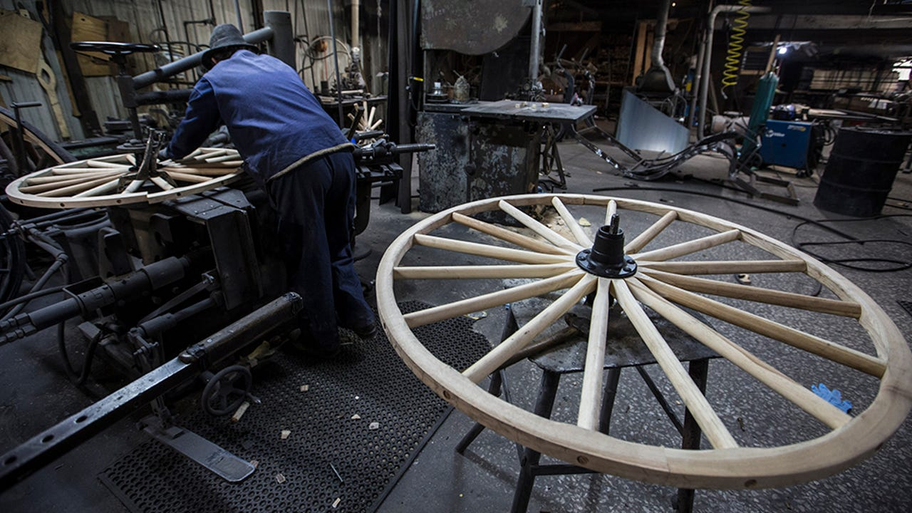 Wooden Wheel Crafting Is Thriving In This Indiana Amish Town