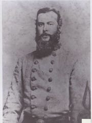 Alfred Mouton, born in Opelousas, owned land in Lafayette. He became a general in the Conferacy and was killed in the Battle of Mansfield.