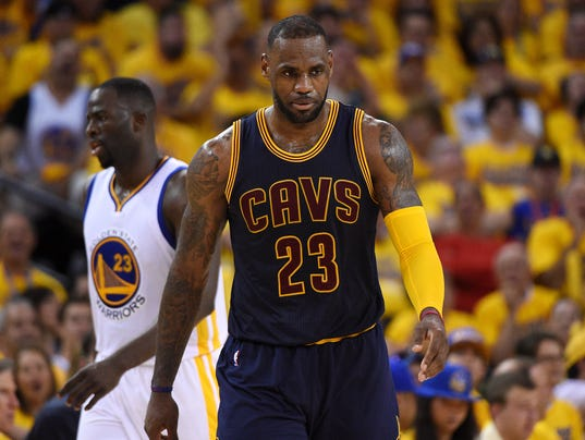 Image result for cavs warriors usa today