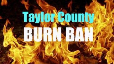 Taylor County Commissioners talk tax rate, burn ban