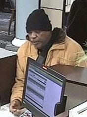 Irondequoit police say they are looking for a man in connection to a bank robbery Friday.