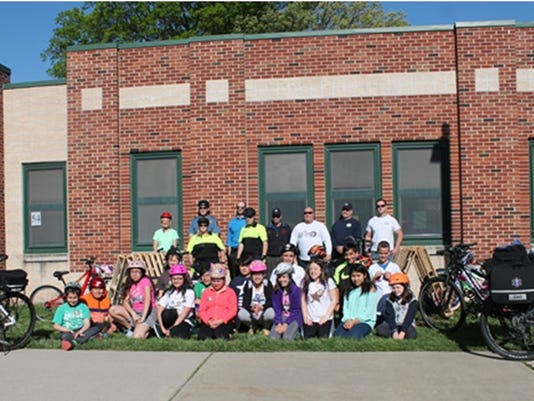 Bike day at Faber School