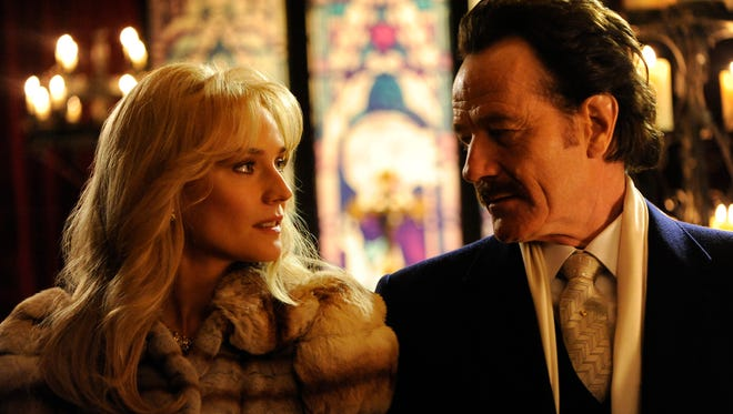 """Diane Kruger stars as undercover U.S. Customs agent Kathy Ertz and Bryan Cranston as her partner Robert Mazur in """"The Infiltrator."""" The movie opens Thursday at Frank Theatres Queensgate Stadium 13 and R/C Hanover Movies."""