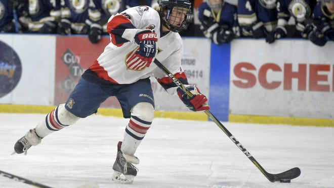 The Great Falls Americans and the Yellowstone Quakes play on Friday night at the Great Falls IcePlex.