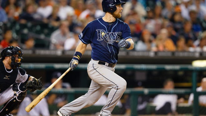 Tampa Bay Rays shortstop Ben Zobrist on July 6.