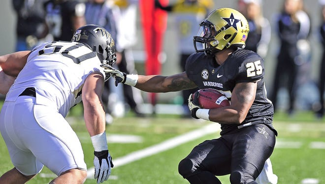 Vanderbilt running back Brian Kimbrow was signed by former coach James Franklin, but he was dismissed from the team by current coach Derek Mason.