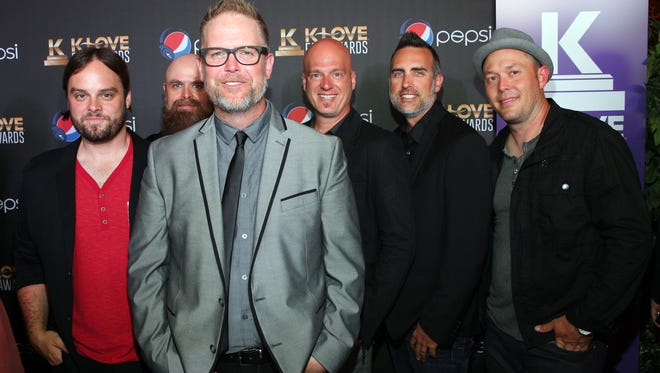 Mercy Me attends the 2nd Annual KLOVE Fan Awards at the Grand Ole Opry House on June 1, 2014, in Nashville, Tenn.