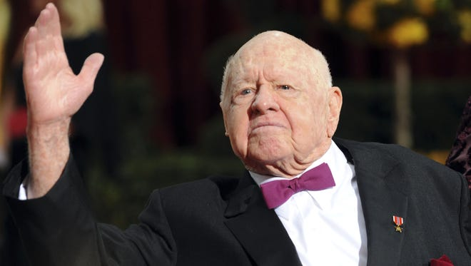 Mickey Rooney arrives at the 81st Annual Academy Awards held at The Kodak Theatre on Feb. 22, 2009, in Hollywood.