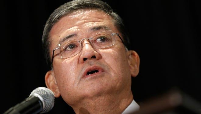 Department of Veterans Affairs Secretary Eric Shinseki has resigned.