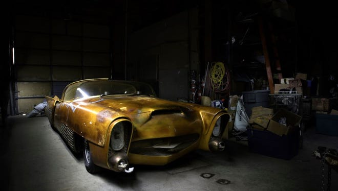 """""""The Golden Sahara"""" might be the wildest creation to spring from the mind of legendary auto customizer George Barris."""
