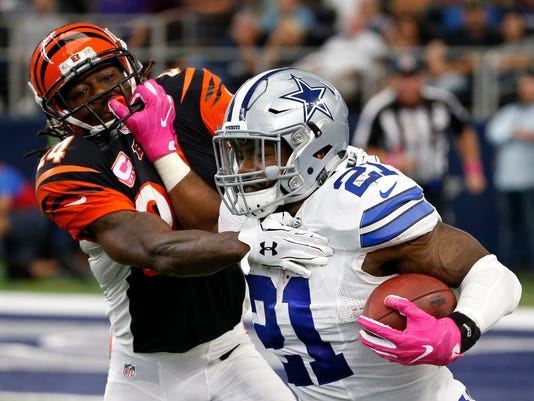 Ezekiel Elliott, Adam Jones