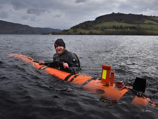 Loch Ness monster found! Well, sort of