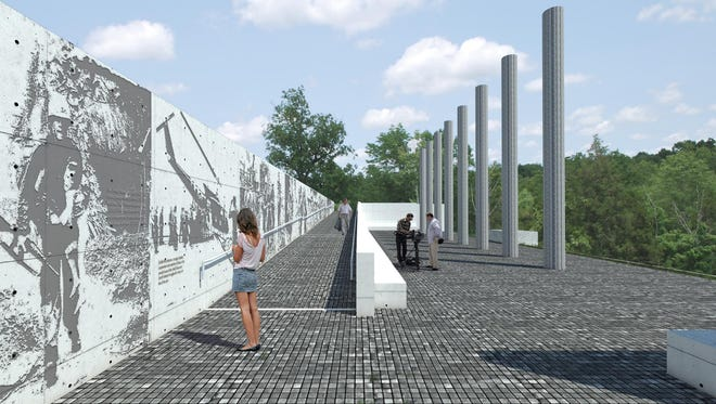 The Tri An Foundation announces that architect Grega Vezjak's design was selected for a monument planned at Veterans Memorial Park on Taylorsville Road in Jeffersontown. An international jury selected Vezjak's design from among 128 entries from 29 countries.