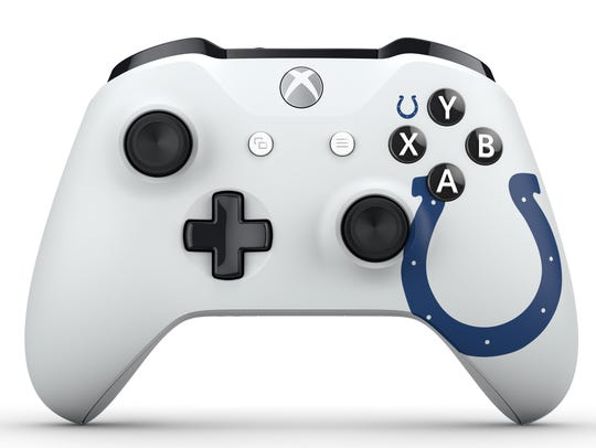 The Indianapolis Colts design scheme for the Xbox One