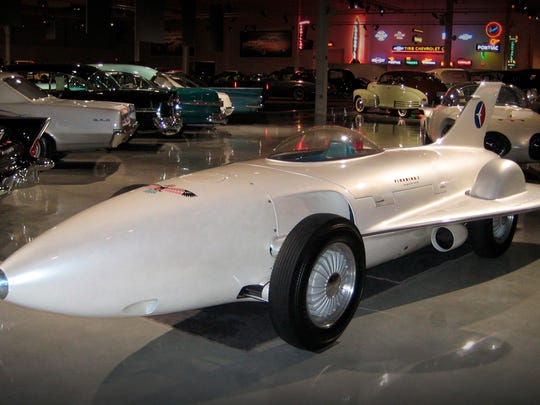 Classic road, race and concept cars are displayed beautifully at the GM Heritage Center in Sterling Heights