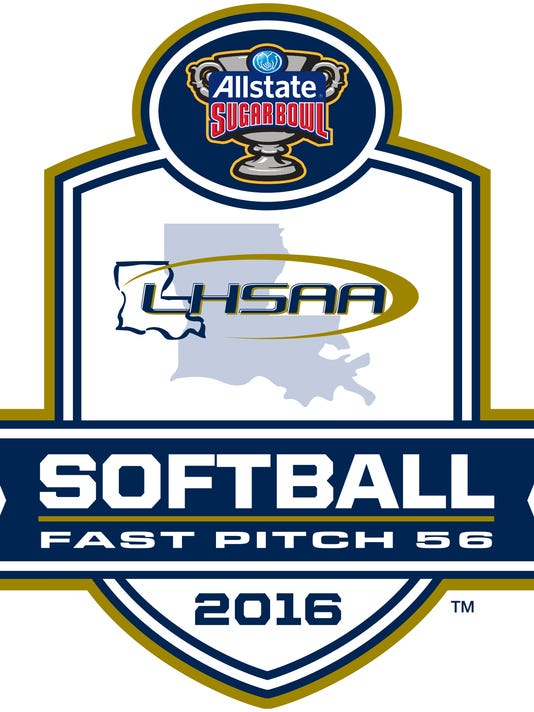 LHSAA softball logo