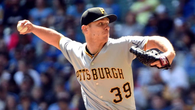 Pirates starter Chad Kuhl allowed just two hits on Sunday