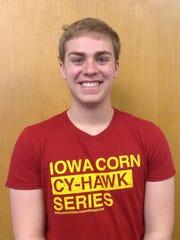 Jacob Mallams, 21, an Iowa State University student