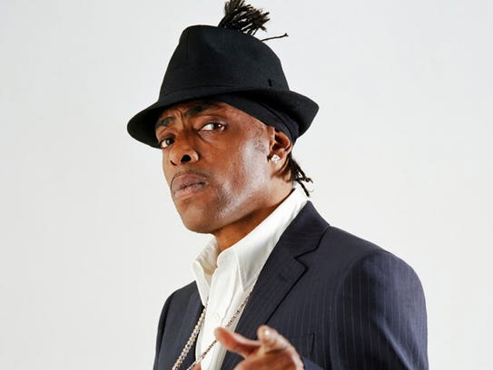 The hip-hop artist Coolio in a recent publicity photograph.