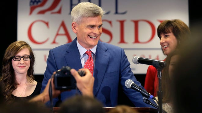 With his late win, Sen. Bill Cassidy also scored a spacious office in Washington.