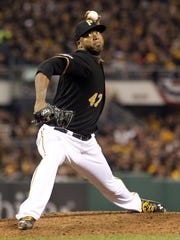 Pittsburgh Pirates pitcher Francisco Liriano was an American League All-Star in 2006.