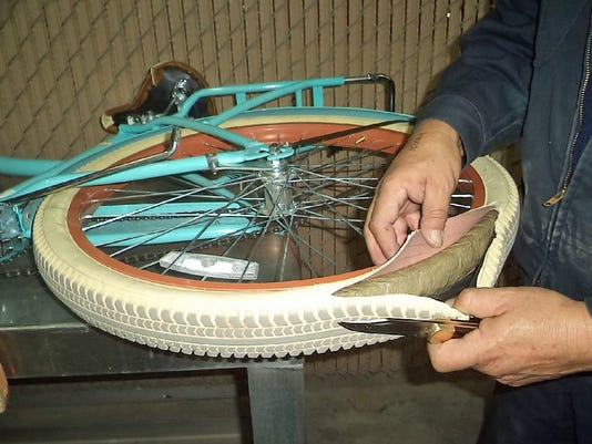 Marijuana hidden in bicycle tires