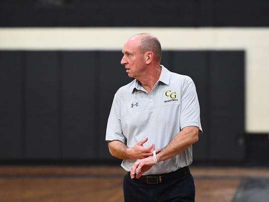 Cedar Grove head girls basketball coach BIll Scanlon.