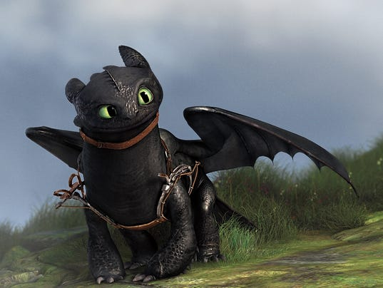 how to train your dragon 1 opening scene