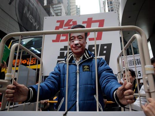 AP HONG KONG MISSING BOOKSELLERS I FILE HKG