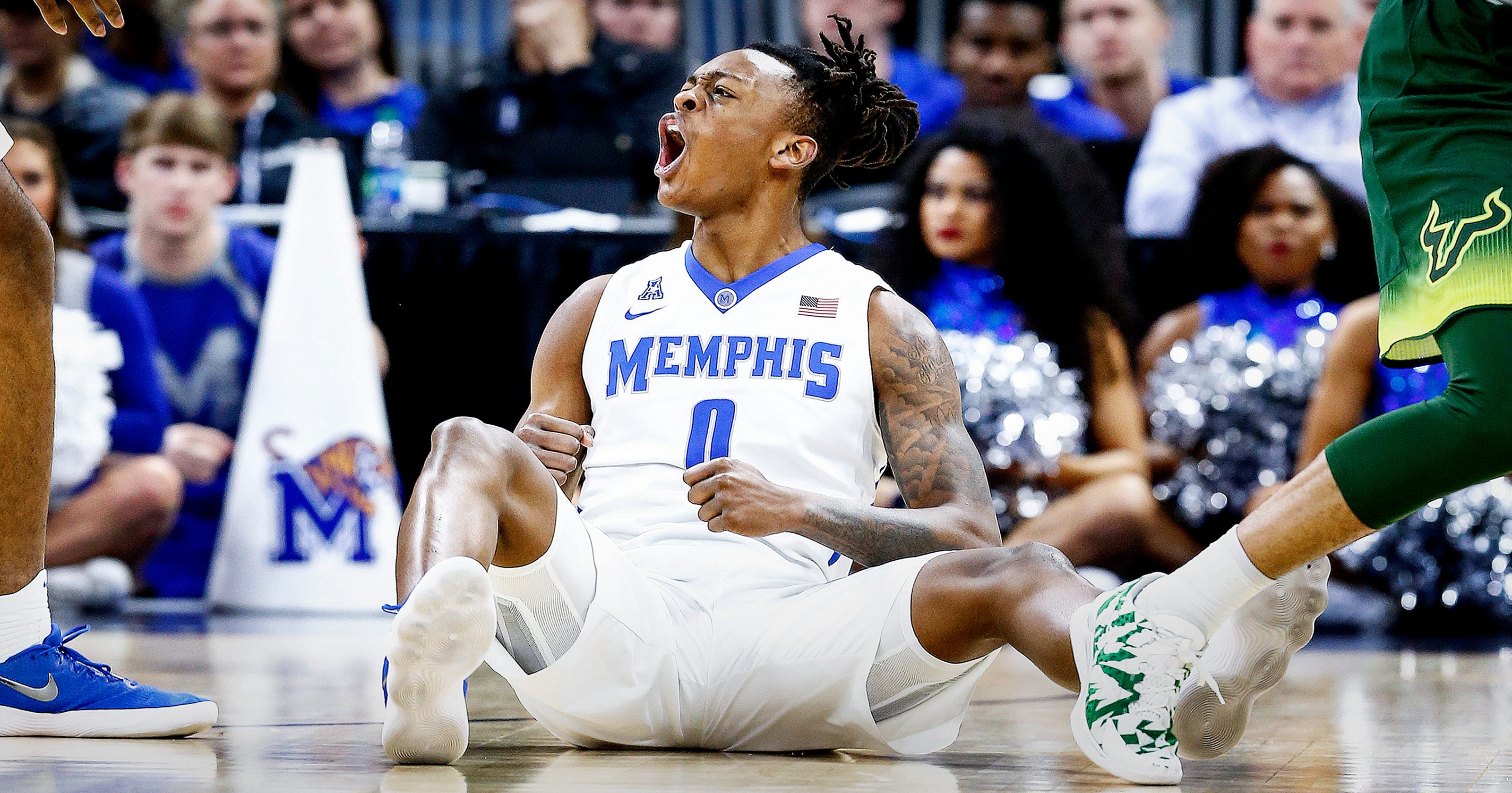 379d8bcfb73 Memphis basketball: Once a stranger to the sport, Kyvon Davenport now a  Tigers star