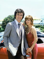 Patrick Duffy and Victoria Principal played Bobby and