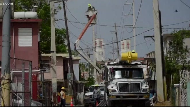 Puerto Rico has been without power since Hurricane Maria slammed the area in September 2017. Big companies like Xcel are sending in crews to help make repairs, and some of those crews are coming from Coloardo.