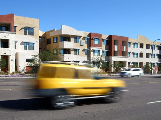 Las Aguas Apartments at 66th Street and McDowell Road