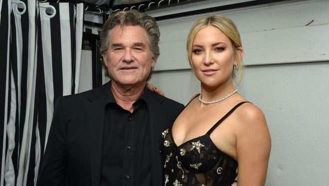 Kurt Russell and Kate Hudson attend the 'Deepwater Horizon' premiere screening in Toronto.
