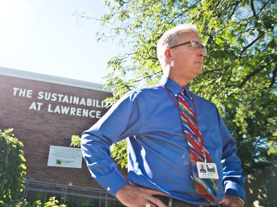 Sustainability Academy Principal Brian Williams.