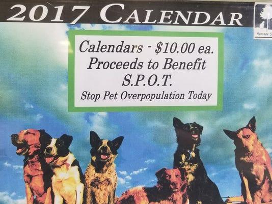 HSLC last year's calendar
