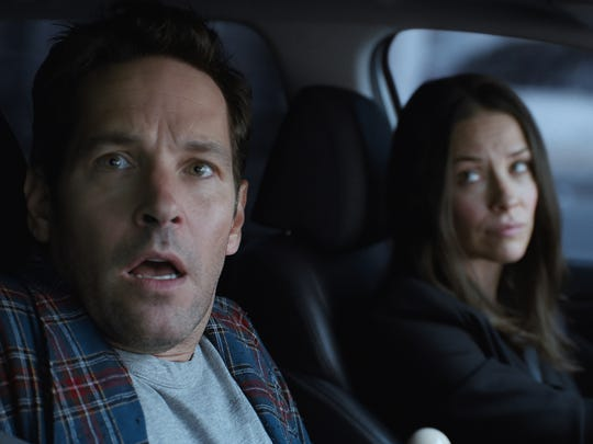 """Ant-Man and the Wasp"" director Peyton Reed wanted a romantic-comedy vibe between Scott Lang (Paul Rudd) and Hope Van Dyne (Evangeline Lilly)."