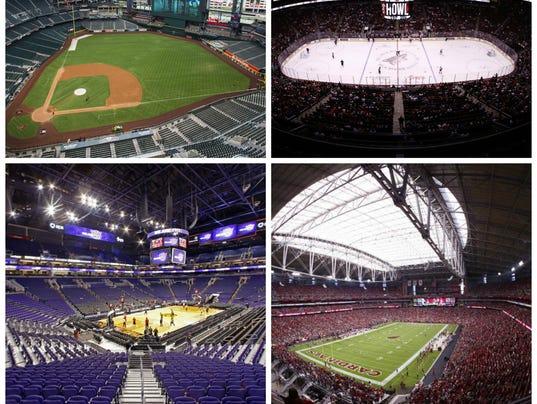 Phoenix-area sports stadiums