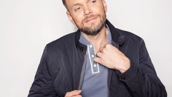 """Joel McHale has been promoting his new book,  """"Thanks for the Money,"""" this fall."""