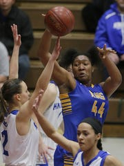 Milwaukee King's Sydnee Roby averaged a double-double