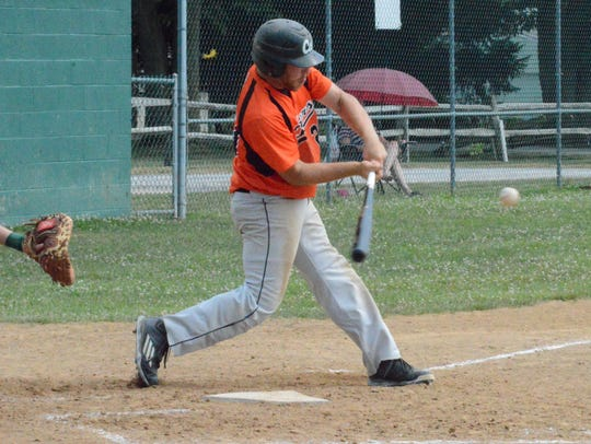 Stoverstown's Levi Krause had an RBI double in Sunday's
