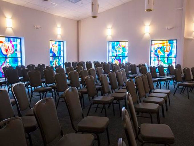 The new chapel at St. Mary's Center in Louisville.  The Center, which supports adults and teens with intellectual disabilities, recently moved to a new location on June 2nd.