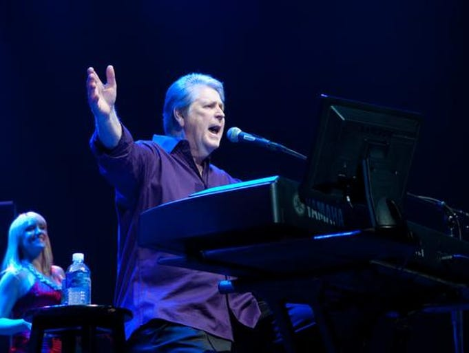 Brian Wilson performing at The Show in Rancho Mirage in 2009.