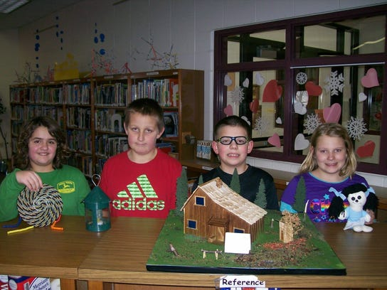 Cynthia Craft's fourth-grade students at Nasonville