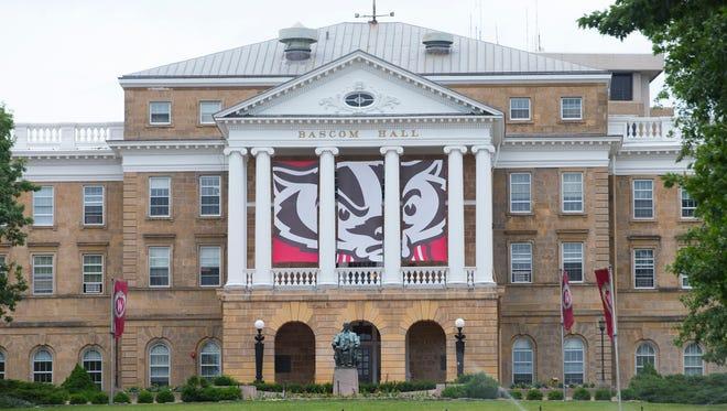 University of Wisconsin-Madison's Bascom Hall.