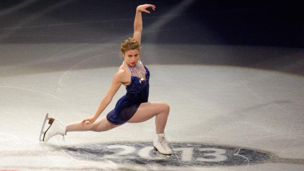 """""""I am so incredibly proud to be representing a country now who is really taking a stance,"""" Ashley Wagner said."""