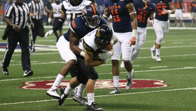 Southern Miss wide receiver Chase Whitehead made his first start and caught his first touchdown as a Golden Eagle last week at UTSA.