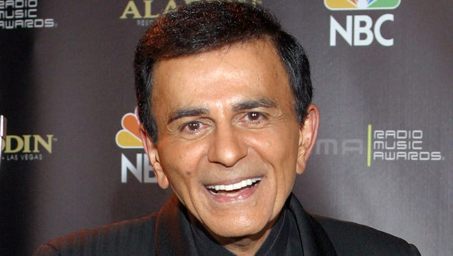 Casey Kasem poses at the 2003 Radio Music Awards in Las Vegas on Oct. 27, 2003. A Los Angeles judge appointed one of Kasem's daughters as his temporary conservator on May 12, 2014, after expressing concerns about the ailing radio personality's well being.
