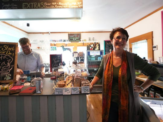 Carla Reid, owner of Black Dog Cafe, from 2017.